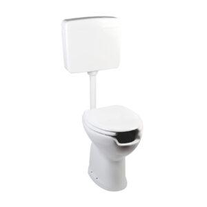 Toilets set