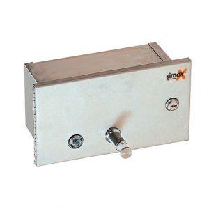 Dosificador de jabón integrado