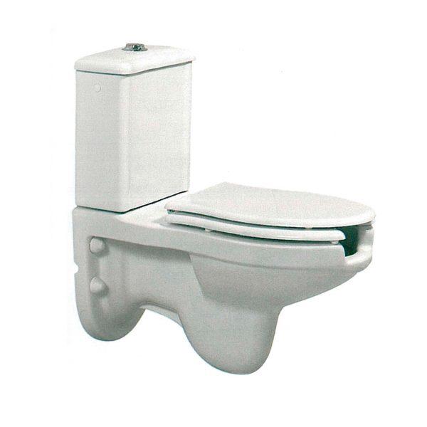Inodoro completo con cisterna