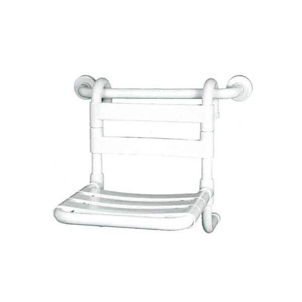 Asiento para ducha adaptable a barras.