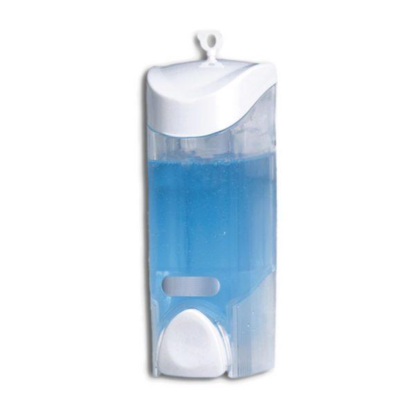 Dosificador de jabón con depósito transparente 0,3l.